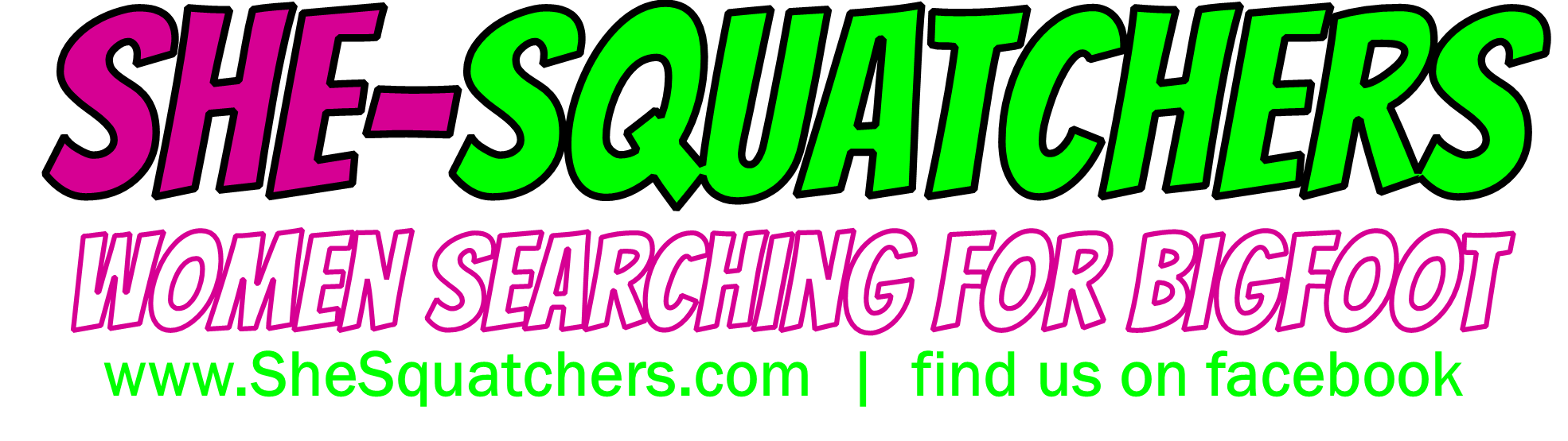 She-Squatchers - first all female bigfoot research team in midwest - SheSquatchers.com