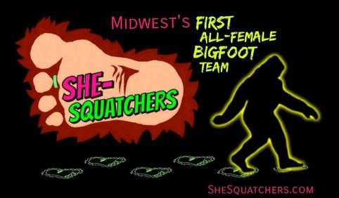 Bigfoot Days - First All-Female Bigfoot Team - SheSquatchers - She-Squatchers - SheSquatchers.com